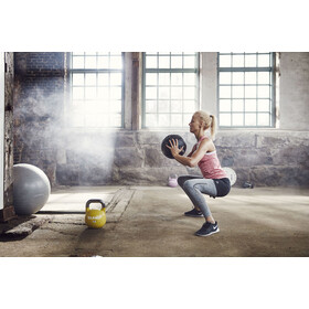 Craft Core Seamless Tights Women dk grey melange